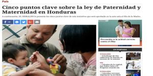 maternidad en Honduras