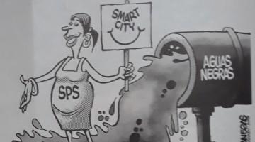 Smart City con sus Aguas Negras