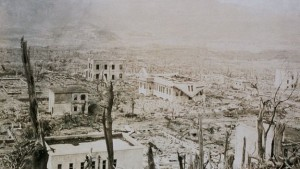 Nagasaki despues de la bomba atomica